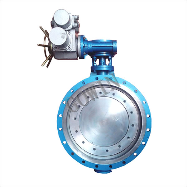 Butterfly Valve c/w Electric Actuator & Mating Flange