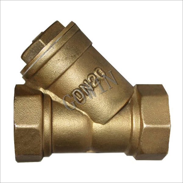 Y type Strainer(Copper material)