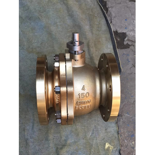 Aluminum bronze Ball valves