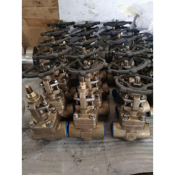 Aluminum bronze gate  valves