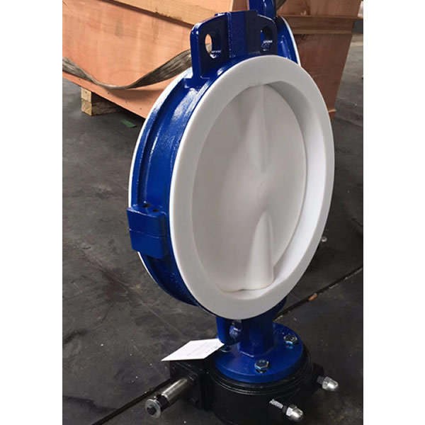 Fully Lined Butterfly Valve