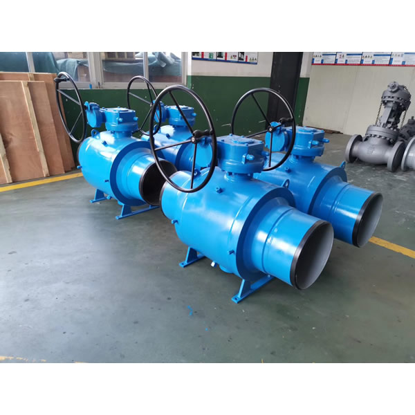 Gear Operaed Fully Welded Ball Valve