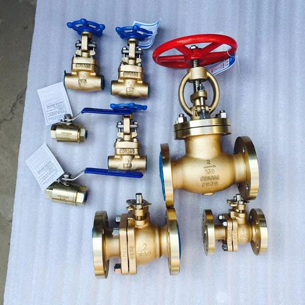 Nickel-Aluminum Bronze Globe Valves